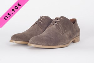 DERBIES JEANNOT TAUPE 44