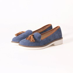 EXCLUSIVITE MOCASSINS BLEU 0030 37