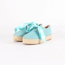 EXCLUSIVITE BASKETS TURQUOISE 0039 37