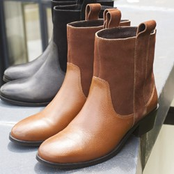1.BOTTINES RIVER CAMEL