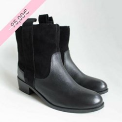 1.BOTTINES RIVER NOIR