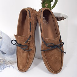 1.MOCASSINS GASTON CAMEL