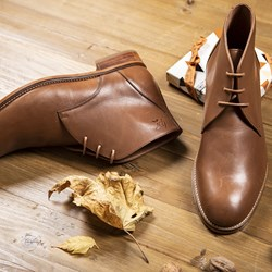 01.BOTTINES ALBERTO MARRON AH20