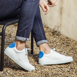 050. BASKETS JOE HOMME BLEU PE21
